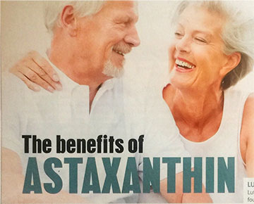 The benefits of Astaxanthin