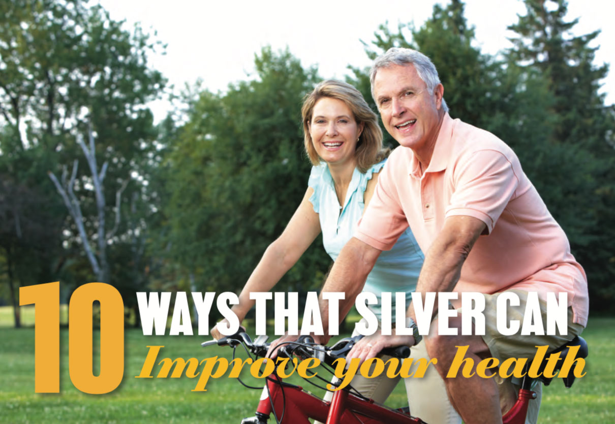 10 ways that silver can improve your health