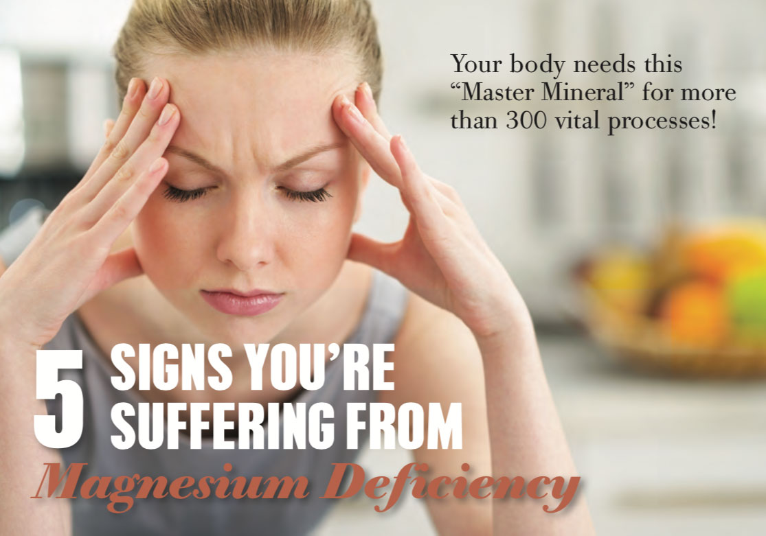 5 signs of magnesium deficiency